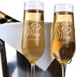 Personalized Wedding Toast Champagne Glasses