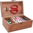 Wooden Sewing Kit for Mom to sew dad's clothes
